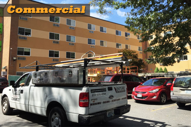 Commercial Vinyl Replacement Windows